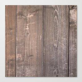 DARK WOODGRAIN Canvas Print