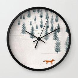 winters tale Wall Clock