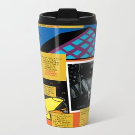Bird of Steel Comix – 7 of 8 (Society 6 POP-ART COLLECTION SERIES) Travel Mug