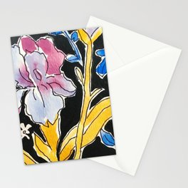 Iris Floral Stationery Cards