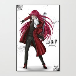 Grell : Red Death Canvas Print