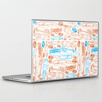 cars Laptop & iPad Skins featuring Cars, cars, cars by rebecca miller
