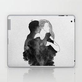 You are my peaceful heaven b&w. Laptop & iPad Skin