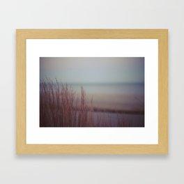 winter warming II Framed Art Print