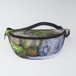 Garden Waterfall Fanny Pack