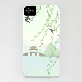 wind of spring iPhone Case