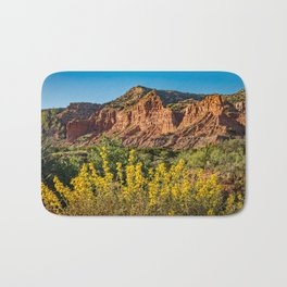 Caprock Canyons Wildflowers Bath Mat