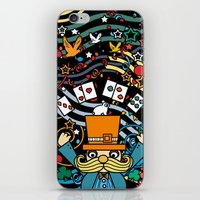carnival iPhone & iPod Skins featuring Carnival by Kakel