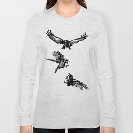 Crow Parliament Long Sleeve T-shirt