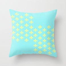 Beachy Infinity Throw Pillow