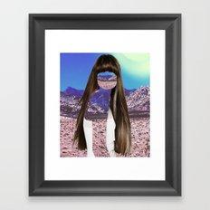 Haircut 6 Framed Art Print