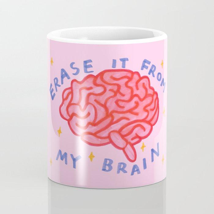 erase it from my brain Coffee Mug