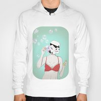 bubbles Hoodies featuring Bubbles by Cisternas