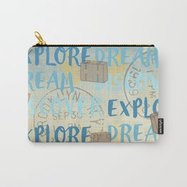 Explore Dream Discover Carry-All Pouch