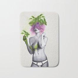 Garden Girls 1 - Basil Bath Mat