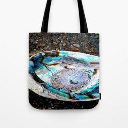 Beautiful Paua at the beach Tote Bag