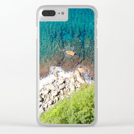 Rock Bottom Clear iPhone Case