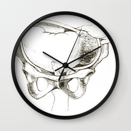 Vintage Medical Illustration Birth Labor and Delivery Midwife Wall Clock