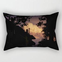 Explosive Sunset Rectangular Pillow