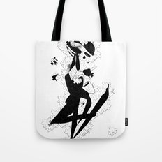 When you finally get them all - Emilie Record Tote Bag