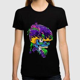 Skater zombie. T-shirt