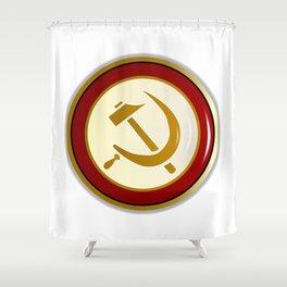 Russian Pin Shower Curtain