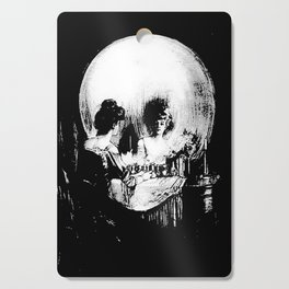 All Is Vanity: Halloween Life, Death, and Existence Cutting Board