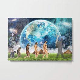 Evolution Metal Print