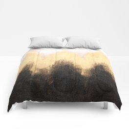 Metallic Abstract Comforters
