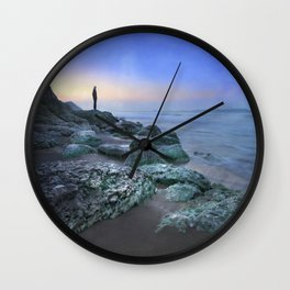 """Evening view"" Wall Clock"
