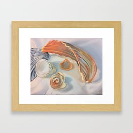Summer Shells Framed Art Print