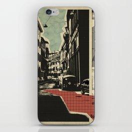Bologna - retro card iPhone Skin