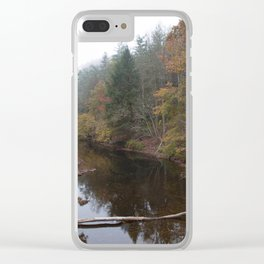 Clear Fork Clear iPhone Case