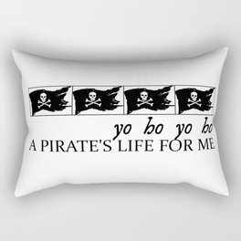 yo ho yo ho Rectangular Pillow