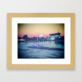 Broadway at the Beach Framed Art Print