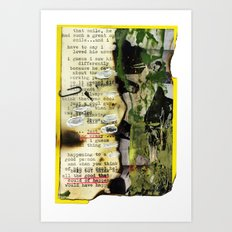 Recollections  iii Art Print