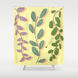 Different Kinds of Leaves Shower Curtain