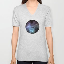 Colorful Galaxy Unisex V-Neck