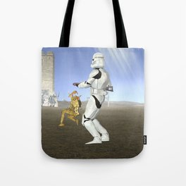 War Stars: Where is no need in Cavalry? Tote Bag