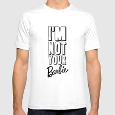 I'M NOT YOUR BARBIE for IPhone SMALL White Mens Fitted Tee