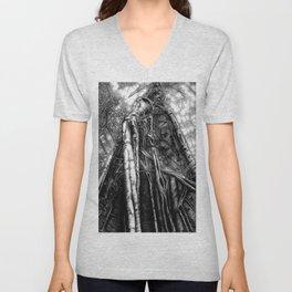 Fig Tree Unisex V-Neck