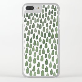 Tiny Forest Clear iPhone Case