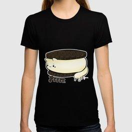 CATS FOODS - ice cream sandwich cat T-shirt
