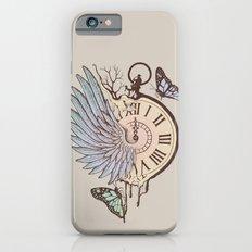 Le Temps Passe Vite (Time Flies) Slim Case iPhone 6