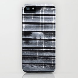 White Paint Strokes / Paint Splashes Texture / Decorative  iPhone Case