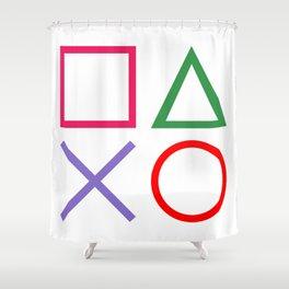 Gamer - Retro Shower Curtain