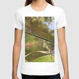 Damselfly Macro Close Up T-shirt