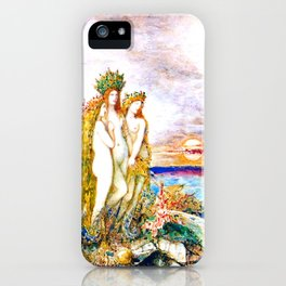 """Gustave Moreau """"The Sirens"""" iPhone Case"""