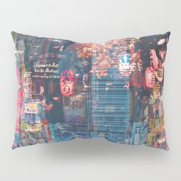 Tokyo city of lights Pillow Sham