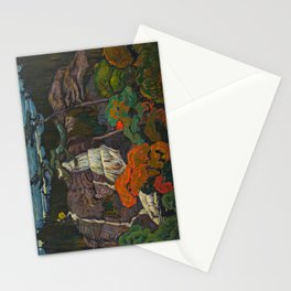 J.E.H. Macdonald Algoma Waterfall, 1920, McMichael Canadian Art Collection Stationery Cards